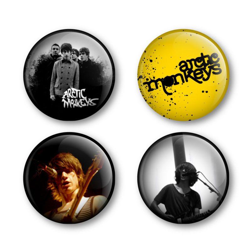 Arctic Monkeys Badge Button Pin Festival Tickets