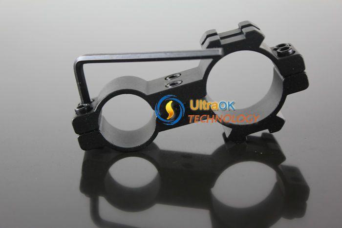 Flashlight Laser Scope Mount Ring 18x25mm + Hex Wrench