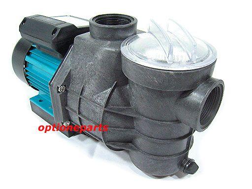 ELECTRIC WATER PUMP 1HP W/STRAINER SPA POND POOL