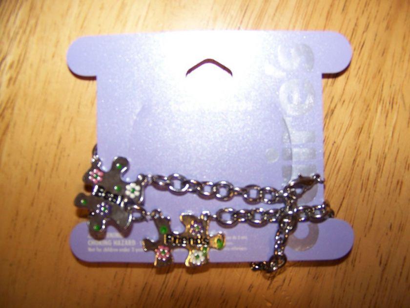 Claires Best Friends Puzzle Piece Bracelets