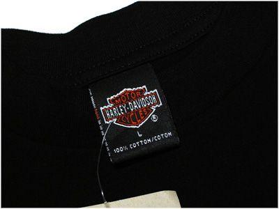 NEW NWT Mens HARLEY DAVIDSON Motorcycles Black Shirt L